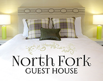 North Fork Guest House Identity Pieces