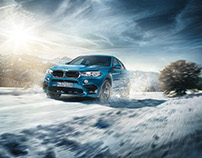 Postproduction BMW xDrive Campagne