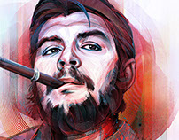 Che Guevara - A Digital Revolution - In Photoshop
