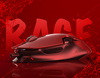 Rage-Gaming Mouse Design