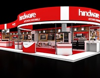 Hindware 90 sqmtr. two side open stall design