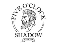Five O'Clock Shadow Logo Design