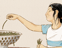 Illustrated recipe for The Illustrated Wok