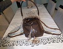 Design leather Handbag (stage technicienne )