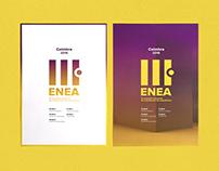 ENEA 2016 - Coimbra | Event Identity