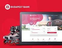 """Budapest Bank """"Üzletélénkítő kölcsön"""" landing redesign"""