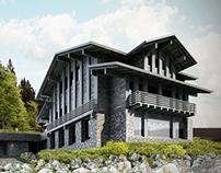 Mountain building in Špindlerův Mlýn - visualizations