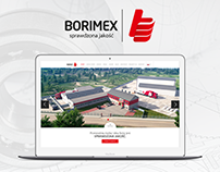 Borimex - Web Design