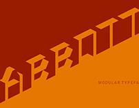 Abbot Typeface