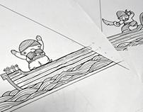 Ilustracion Simbad en Objeto
