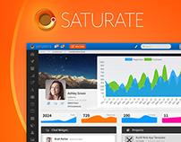 Saturate UI - Web App Framework