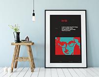 Saul Bass poster 24x36