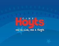 Cine Hoyts / Renovación identidad corporativa
