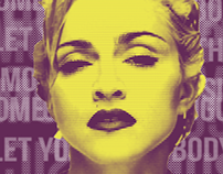 Vogue - Poster Madonna