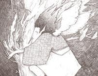 "Illustrations for ""Forest song"" by Lesia Ukrainka"