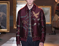 Illustration for Etro men collection FW 20/21