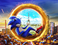 Sonic The Hedgehog Key Art