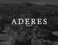 Aderes - Free Serif Font