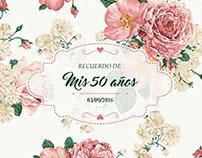 Evento: cumpleaños de 50