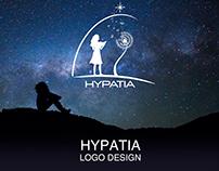 HYPATIA Logo Design