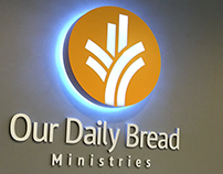 Signage & Interior branding / Our Daily Bread
