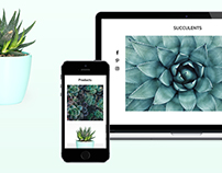 Succulents Template