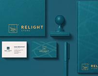 Relight Store -- Brand Identity