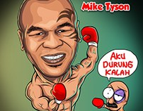 MIKE TYSON CARICATURE