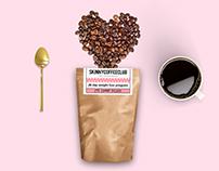 I Love Coffee Flatlay For Skinny Coffee Club