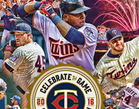 2016 Minnesota Twins Ticket Boxes