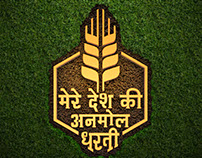 A Logo For TV series for farmers (On Zee Anmol)