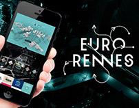 Webdesign Homepage EuroRennes