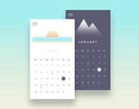 Calendar - #DailyUI #038