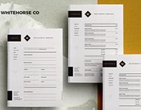 Brief, Estimate&Invoice - Whitehorse