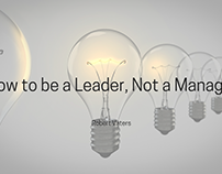 How to be a Leader, Not a Manager