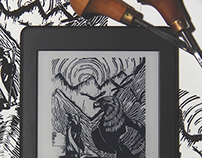 Kindle Lino Prints 2015