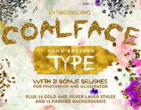 Coalface Font Plus Extras