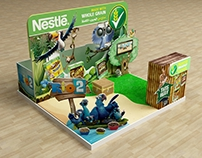 Nestle Rio2 Activation Booth