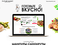 Landing Page for Skewers
