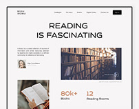 Library Website Design