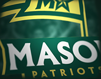 Mason Patriots (GMU) University Athletics Rebrand