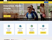 Aviva website