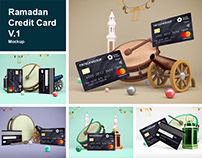 Ramadan Credit Card V.1 Mockup