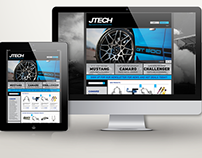 JTECH Homepage Concept
