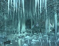 Winter Cave 3d