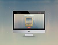 Polaroids: Website Design