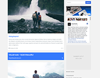 Blog Page - Rare WordPress Theme
