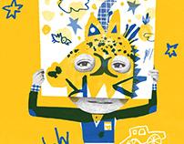 Poster for Children's Literary Award