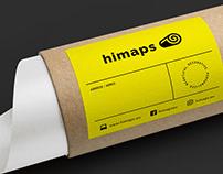 himaps - brand identity