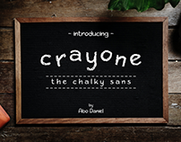 Crayone The Chalky Sans Fonts (Free Download)